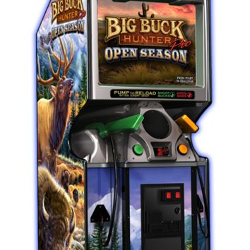 Big Buck Hunter Pro Open Season Arcade Machine