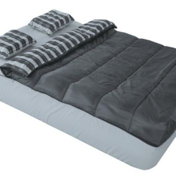 Adventure Trails Queen Size 6 Piece Bed in a Bag Set for a Queen Air Mattress