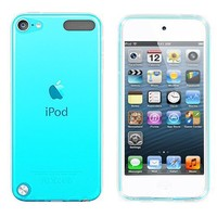Frosted TPU Rubber Gel Case for iPod Touch 5th Generation, Clear