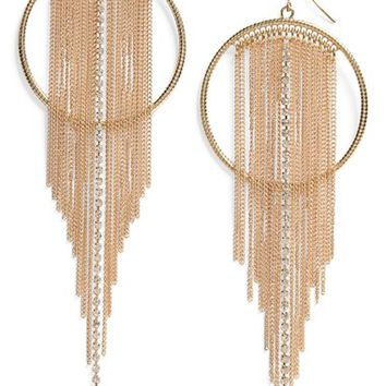 Panacea Fringe Shoulder Duster Earrings | Nordstrom