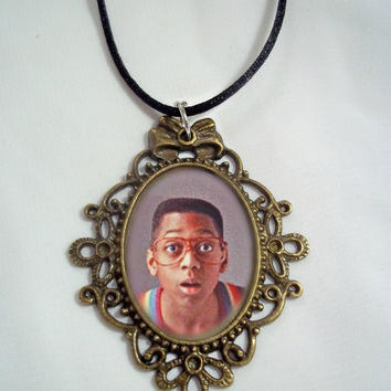 Steve Urkel Necklace