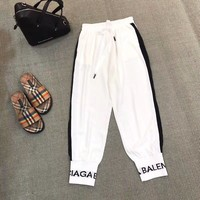 Balenciaga Women Fashion Pants