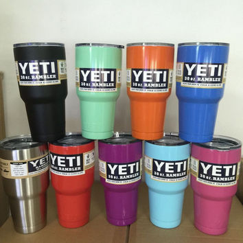 Yeti Tumbler Rambler Stainless Steel Travel Cup 30 oz