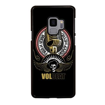 VOLBEAT HEAVY METAL Samsung Galaxy S4 S5 S6 S7 S8 S9 Edge Plus Note 3 4 5 8 Case Cover