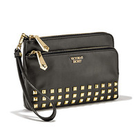 The Glam Rock Double Zip Wristlet - Victoria's Secret