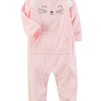 Fleece Character Jumpsuit