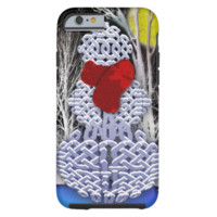 Celtic Knot Snowman iPhone 6 Case