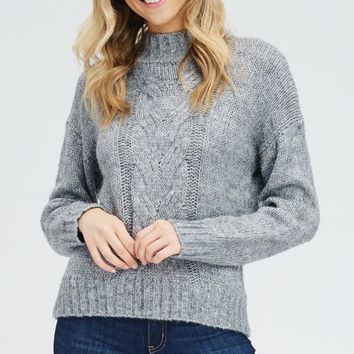 Cable Car Sweater Top