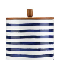 Kate Spade Large Charlotte Street Canister Navy ONE
