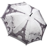 Galleria Paris Auto Stick Umbrella - Paris