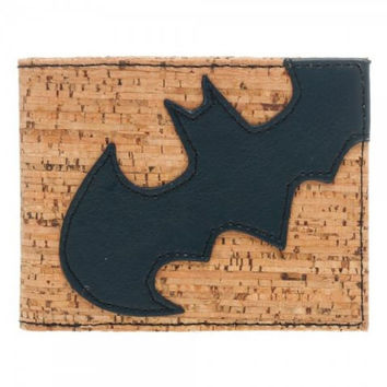 Batman - Emblem Cork Material Wallet - Billfold