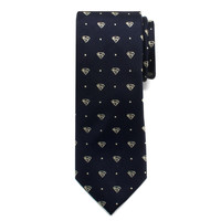 Superman Pin Dot Boys Tie