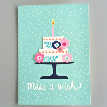 The Mint Cake Birthday Card