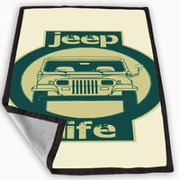Jeep Blanket for Kids Blanket, Fleece Blanket Cute and Awesome Blanket for your bedding, Blanket fleece **
