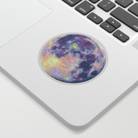 Blue moon Sticker by martaolgaklara