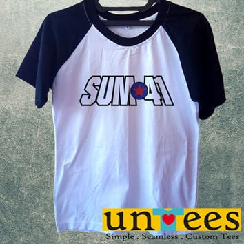 Sum 41 Logo Short Raglan Sleeves T-shirt