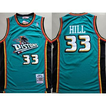 1998 99 Mitchell Ness 33 Grant Hill Swingman Jersey