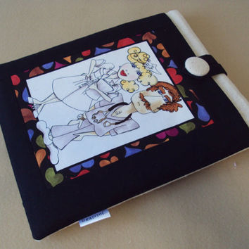 iPad Case / iPad Cover / Galaxy Tablet / Loralie Harris Doctors print READY TO SHIP