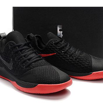 LeBron Witness 3.0 Basketball Shoes - Black/Red