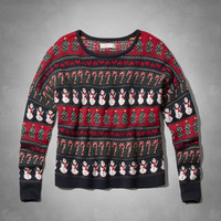 Holiday Intarsia Sweater