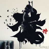 Surface Collective's Wall Tattoos / Wall Decals / Laptop Decals - Product - iSamurai