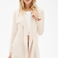 Belted Crepe Trench Coat