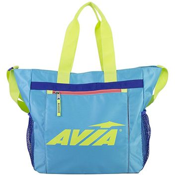 Avia Athletic Tote with Front Sleeve For Yoga Mat