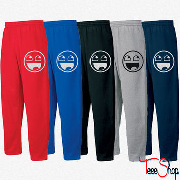 Awesome Smiley 1c Sweatpants