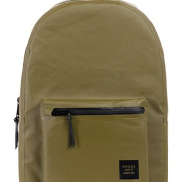 Men's Herschel Supply Co. 'Settlement - Studio Collection' Water Resistant Tarpaulin Backpack - Green