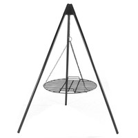 Firepit Tripod Grill with 22