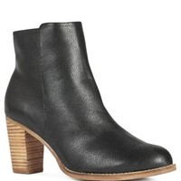 Buy Black Block Heel Ankle Boots from the Next UK online shop