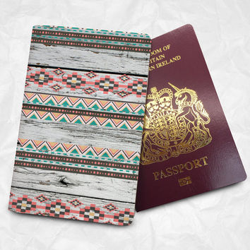 Personalised Custom Name Passport Cover Passport Holder with FREE Name Printing (BBS040)