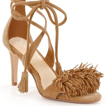 Gianni Bini Hadley Fringe Two Piece Dress Sandals | Dillards