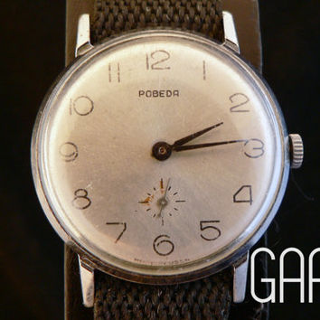 Vintage  Pobeda watch for men