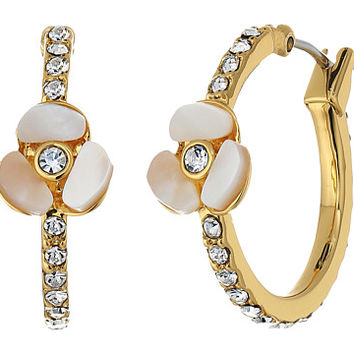 Kate Spade New York Special Occasion Pave Hoops