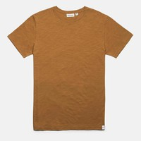 Basic Slub T-Shirt in Almond