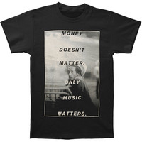 Bob Marley Men's  Money Doesn't Matter T-shirt Black Rockabilia