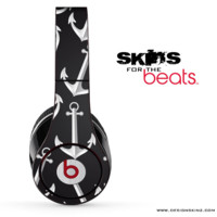 Black & White Anchor Skin for the Beats by Dre