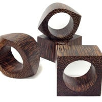 Etosha Napkin Rings, Set of 4, Napkin Rings & Holders