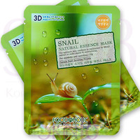 Foodaholic 3D Snail Natural Essence Mask  *exp.date 02/18*