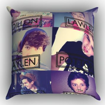Our Second Life O2L Zippered Pillows  Covers 16x16, 18x18, 20x20 Inches