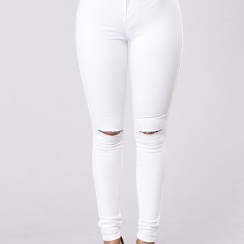 Canopy Jeans - White
