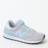 New Balance 515 Modern Classics Running Sneakers - Womens Shoes - Grey/Blue