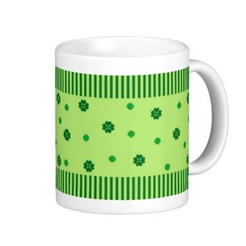 Stripes and clover - Mug