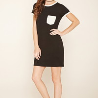 Pocket Ringer T-Shirt Dress