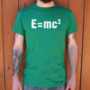 Albert Einstein's Formula Men's T-Shirt