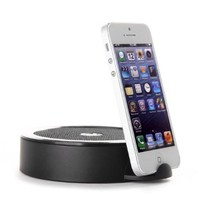 Lumsing® Prophet Bluetooth Speaker 10w Portable Wireless Bluetooth Stereo Speaker up to 15 Hours Playtime, Clear and Crispy Sound Quality; Gently Sweep, Fast Matching with NFC Function; with Built in Microphone for Phone Calls; Works with Iphone Ipad Ipod,