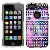 Otterbox Commuter Nebula White Aztec Galaxy Case for iPhone 5