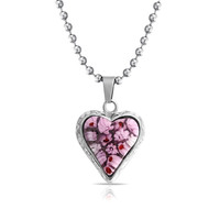 Bling Jewelry Pretty Pink Pendant
