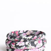 Rainy Days Floral Bangles - $13.00 : ThreadSence.com, Your Spot For Indie Clothing & Indie Urban Culture